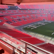 Wembley stands